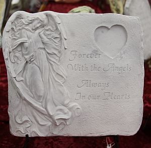 Forever with the Angels Memory Stone in Alexandria MN, Broadway Floral