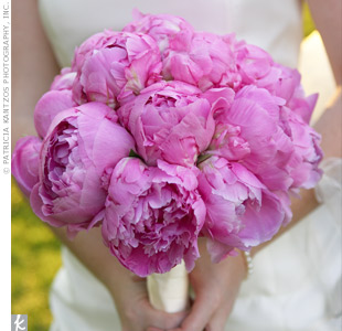 Pink Peony Bridal Bouquet in Knoxville TN, The Flower Pot