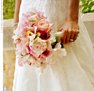 Soft Pink Bridal Bouquet in Knoxville TN, The Flower Pot