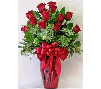 Premium Long Stem Red Roses in San Diego CA, The Floral Gallery