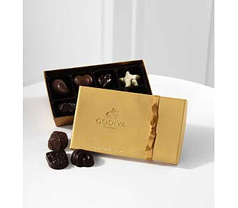 Box of Godiva Chocolates in Big Rapids, Cadillac, Reed City and Canadian Lakes MI, Patterson's Flowers, Inc.