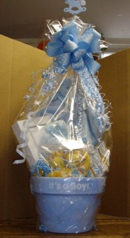 Baby Boy Gift Basket in Tuckahoe NJ, Enchanting Florist & Gift Shop