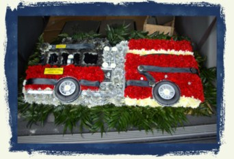 Fire Engine in Tuckahoe NJ, Enchanting Florist & Gift Shop