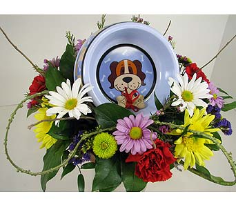 Huddart Doghouse Bouquet in Salt Lake City UT, Huddart Floral