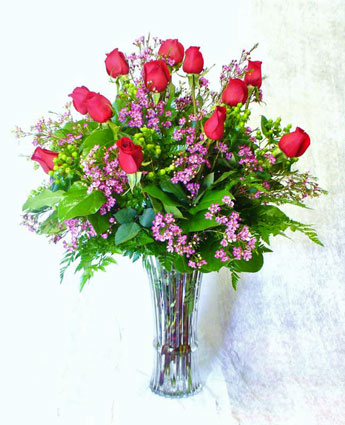 A Dozen Premium Red Roses in Scranton PA, McCarthy Flower Shop<br>of Scranton
