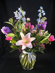 Mixed vase in Chapel Hill NC, Floral Expressions and Gifts