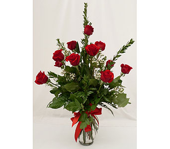 Mildred's Signature Dozen Roses Arranged in Holladay UT, Brown Floral