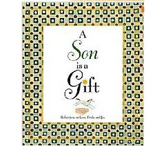 A Son is a Gift Hardcover Book in Birmingham AL, Norton's Florist