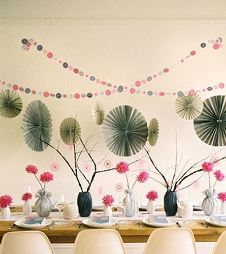 Modern, Casual Tablescape in Knoxville TN, The Flower Pot