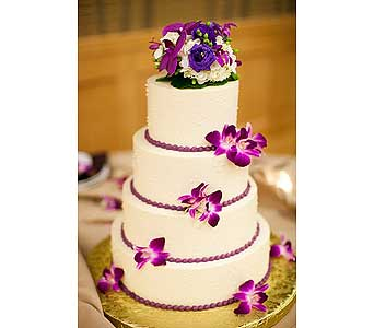 Wedding Cake in Kirkland WA, Fena Flowers, Inc.