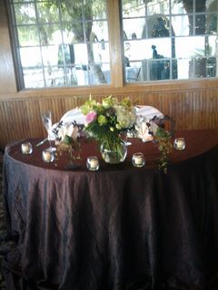 Sweetheart Table in San Bernardino CA, Inland Flowers