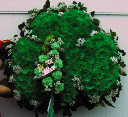 Shamrock in Belford NJ, Flower Power Florist & Gifts