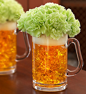 Beer Mug of Blooms in Knoxville TN, The Flower Pot