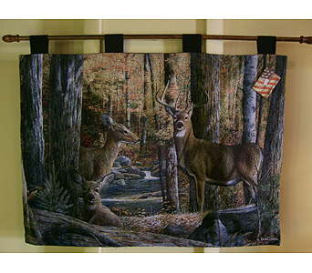 Deer Stream Tapestry in Sanford FL, Sanford Flower Shop, Inc.