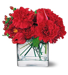 Passionate Reds in Friendswood TX, Lary's Florist & Designs LLC