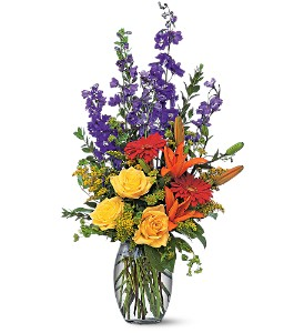 Colorful Sensation in Orange CA, LaBelle Orange Blossom Florist