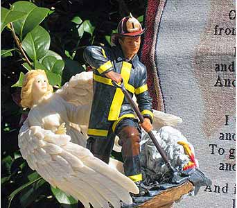 Fireman''s Prayer in Fayetteville GA, Our Father's House Florist & Gifts