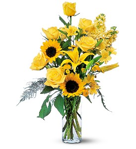 Blazing Sunshine in Bakersfield CA, White Oaks Florist