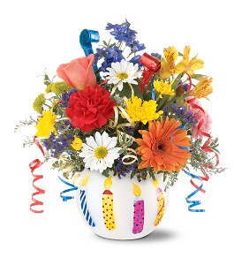 Teleflora's Birthday Celebration in Mooresville NC, All Occasions Florist & Boutique<br>704.799.0474