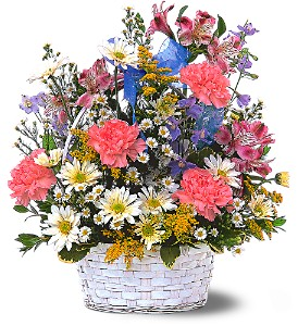 Jubilee Basket in Lemoore CA, Ramblin' Rose Florist