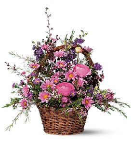 Basket of Blossoms in Santa Monica CA, Edelweiss Flower Boutique