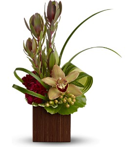 Teleflora's Bamboo Eden in Fort Worth TX, Mount Olivet Flower Shop