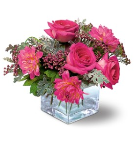 Perfect Pink Harmony in Westmont IL, Phillip's Flowers & Gifts
