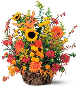 Majestic Fall in Charlottesville VA, A New Leaf Florist