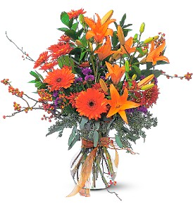 Autumn Sunshine in Spartanburg SC, A-Arrangement Florist