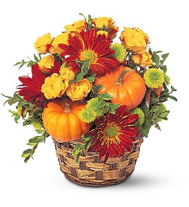 Hint of Fall in Orange CA, LaBelle Orange Blossom Florist