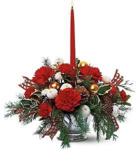 Celebrate the Season Centerpiece in Georgetown ON, Vanderburgh Flowers, Ltd