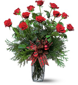Holiday Red Roses in Georgetown ON, Vanderburgh Flowers, Ltd