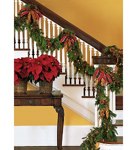Staircase Garland in Memphis TN, Henley's Flowers And Gifts