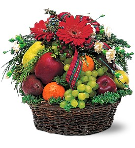 Fabulous Fruit Basket in Patchogue NY, Mayer's Flower Cottage