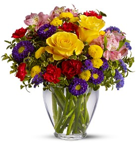 Beautiful Floral Arrangement that is typical of almost all website offerings