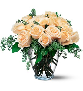 White Roses in San Francisco CA, Fillmore Florist
