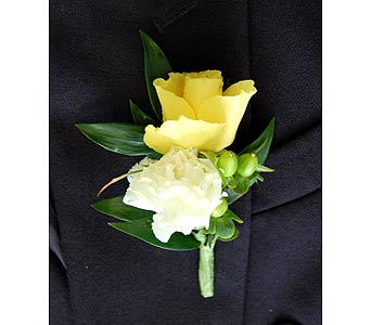 Mixed Boutonniere in Towson MD, Radebaugh Florist and Greenhouses