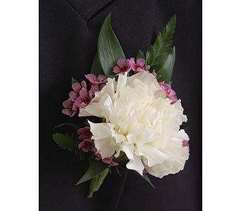Carnation Boutonniere in Towson MD, Radebaugh Florist and Greenhouses
