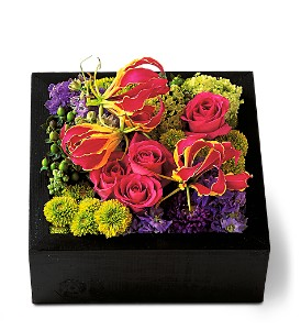 Pav� Texture Square in Sylmar CA, Saint Germain Flowers Inc.