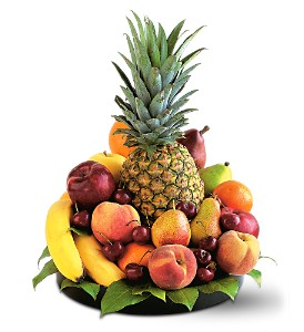 Delightful Fruit Tray in Kissimmee FL, Golden Carriage Florist