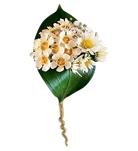 Tiny Blossoms Boutonniere in Big Rapids, Cadillac, Reed City and Canadian Lakes MI, Patterson's Flowers, Inc.