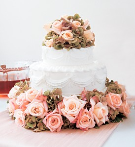 Sweet Visions Wedding Cake Decoration in Hendersonville TN, Brown's Florist