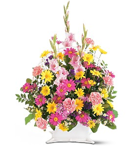Spring Remembrance Basket in Red Bank NJ, Red Bank Florist