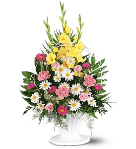 Basket of Faith in Hudson, New Port Richey, Spring Hill FL, Tides 'Most Excellent' Flowers