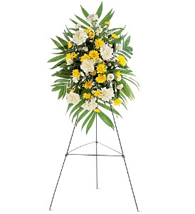 Yellow Dawn Spray in Bend OR, All Occasion Flowers & Gifts