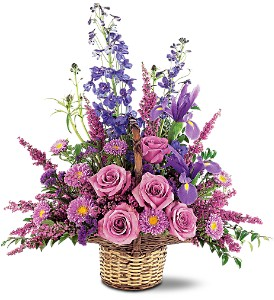 Gentle Comfort Basket in Hudson, New Port Richey, Spring Hill FL, Tides 'Most Excellent' Flowers