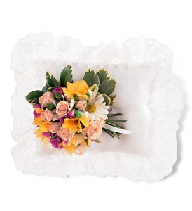 Spring Satin Pillow Cluster in Markham ON, Metro Florist Inc.