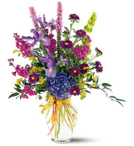 Lush Lavenders Bouquet in Haddon Heights NJ, April Robin Florist & Gift