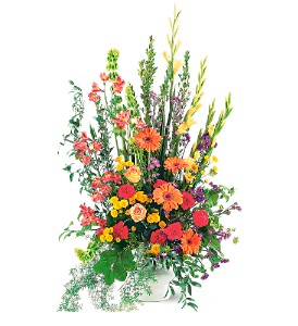 Summer Sentiments Arrangement in Indianapolis IN, Gillespie Florists