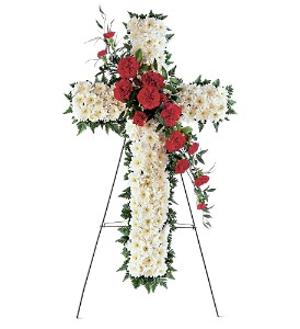 Hope and Honor Cross in Evansville IN, Cottage Florist & Gifts